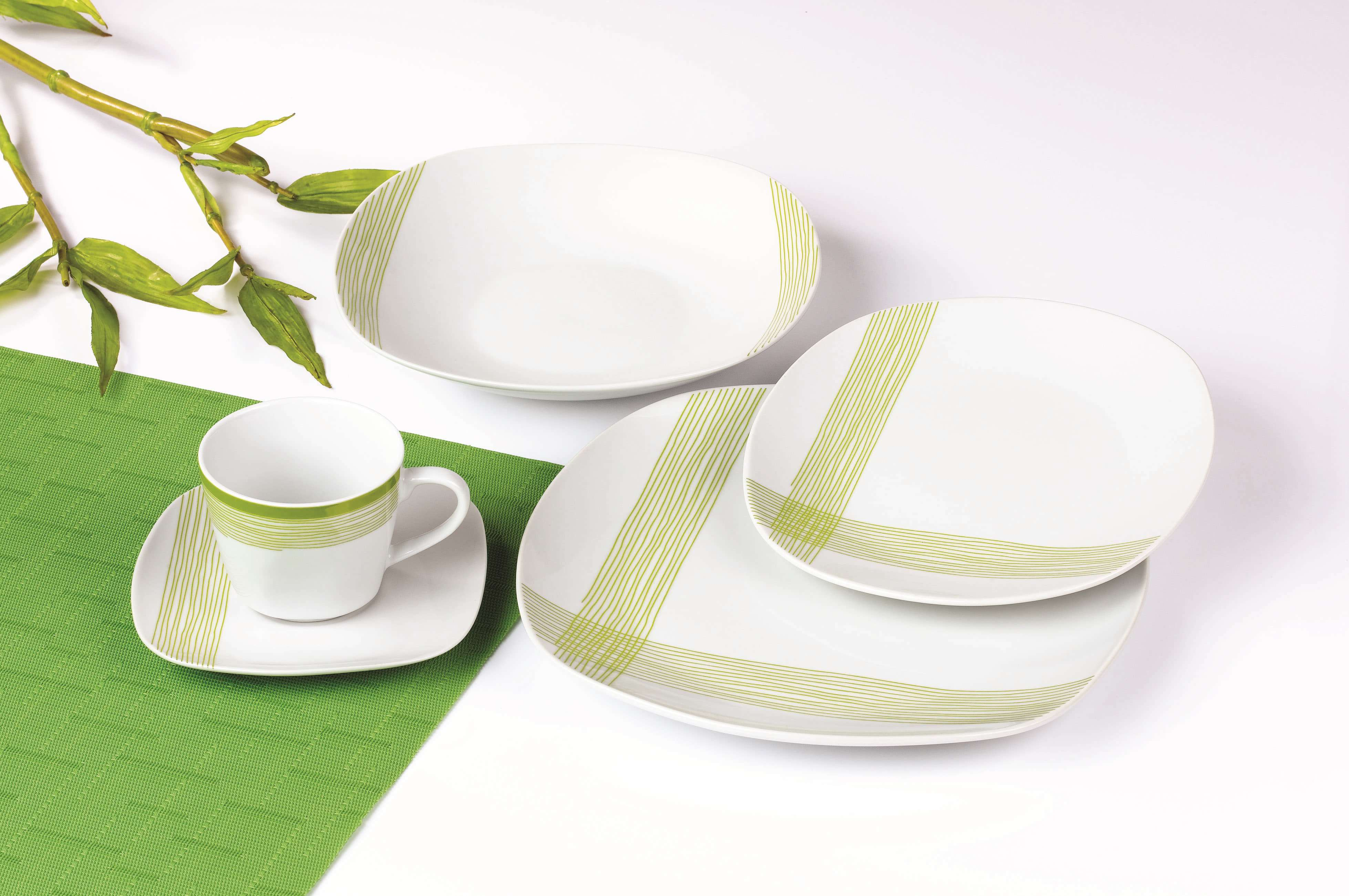 线条纹理餐具