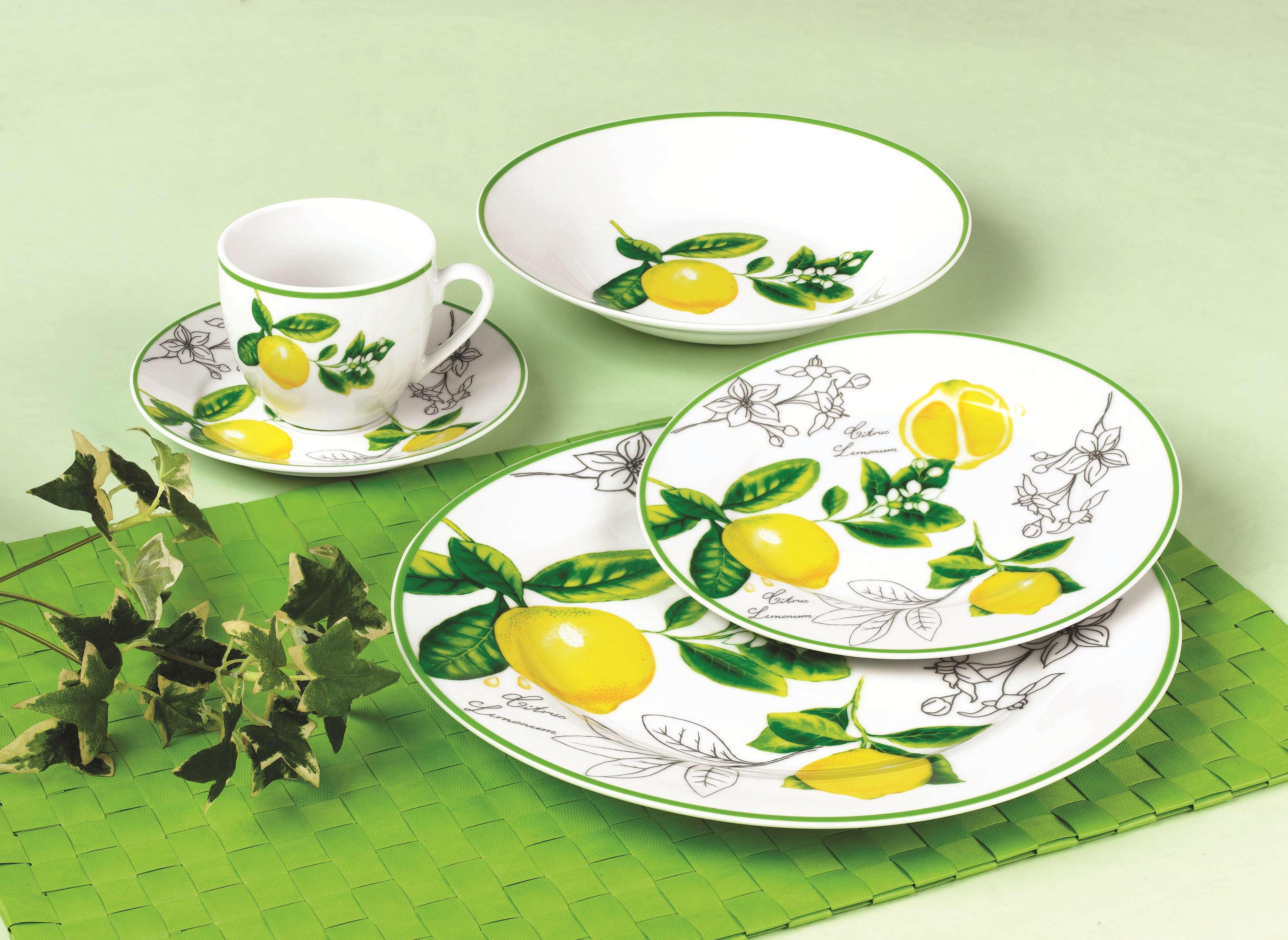 水果柚子陶瓷餐具