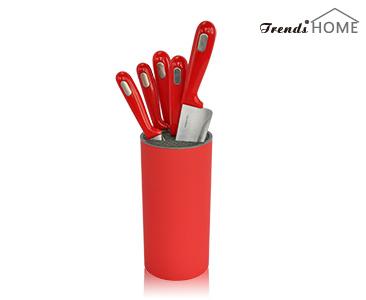红色刀具储放器