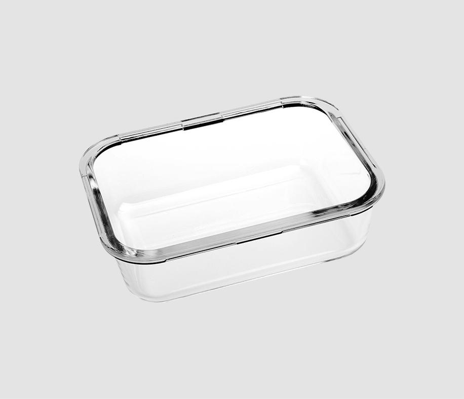 长方形玻璃碗